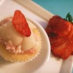Vanilla strawberry mascarpone cupcakes (75)