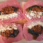 Pesto-rolled pork with spanish rice (2)