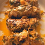 Pesto-rolled pork with spanish rice (8)