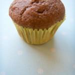 Whole Wheat Low-Fat Cinnamon Apple Muffin
