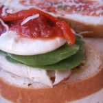 Bell pepper spinach panino (13)