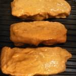 Curry mango marinade pork loin with spinach-cucumber-strawberry salad (18)