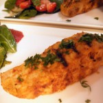 Curry mango marinade pork loin with spinach-cucumber-strawberry salad (28)