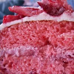 Triple strawberry mascarpone birthday cake (71)