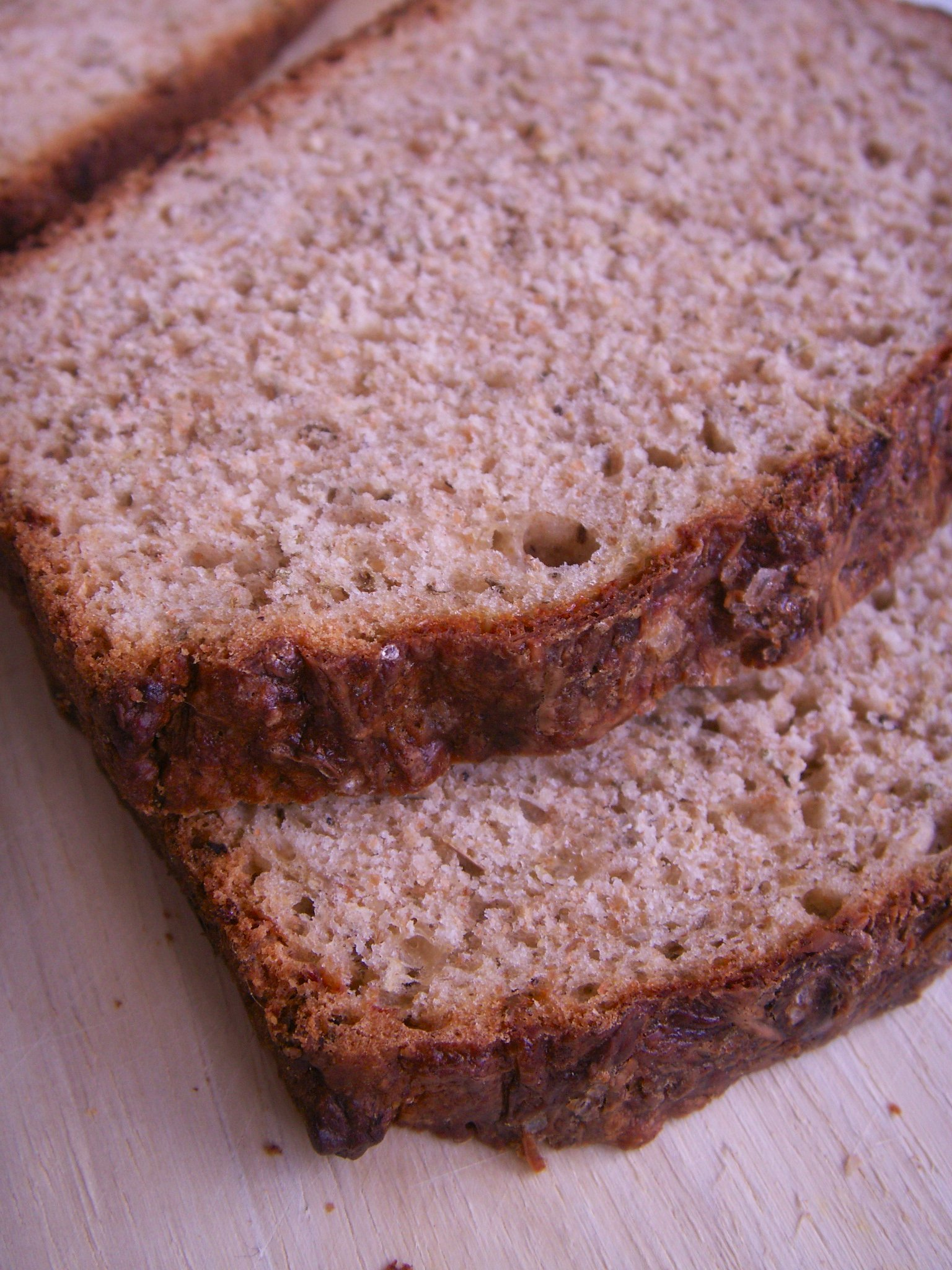 Honey Wheat Herb Beer Bread