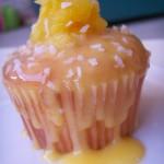 Hawaiian pineapple cupcakes