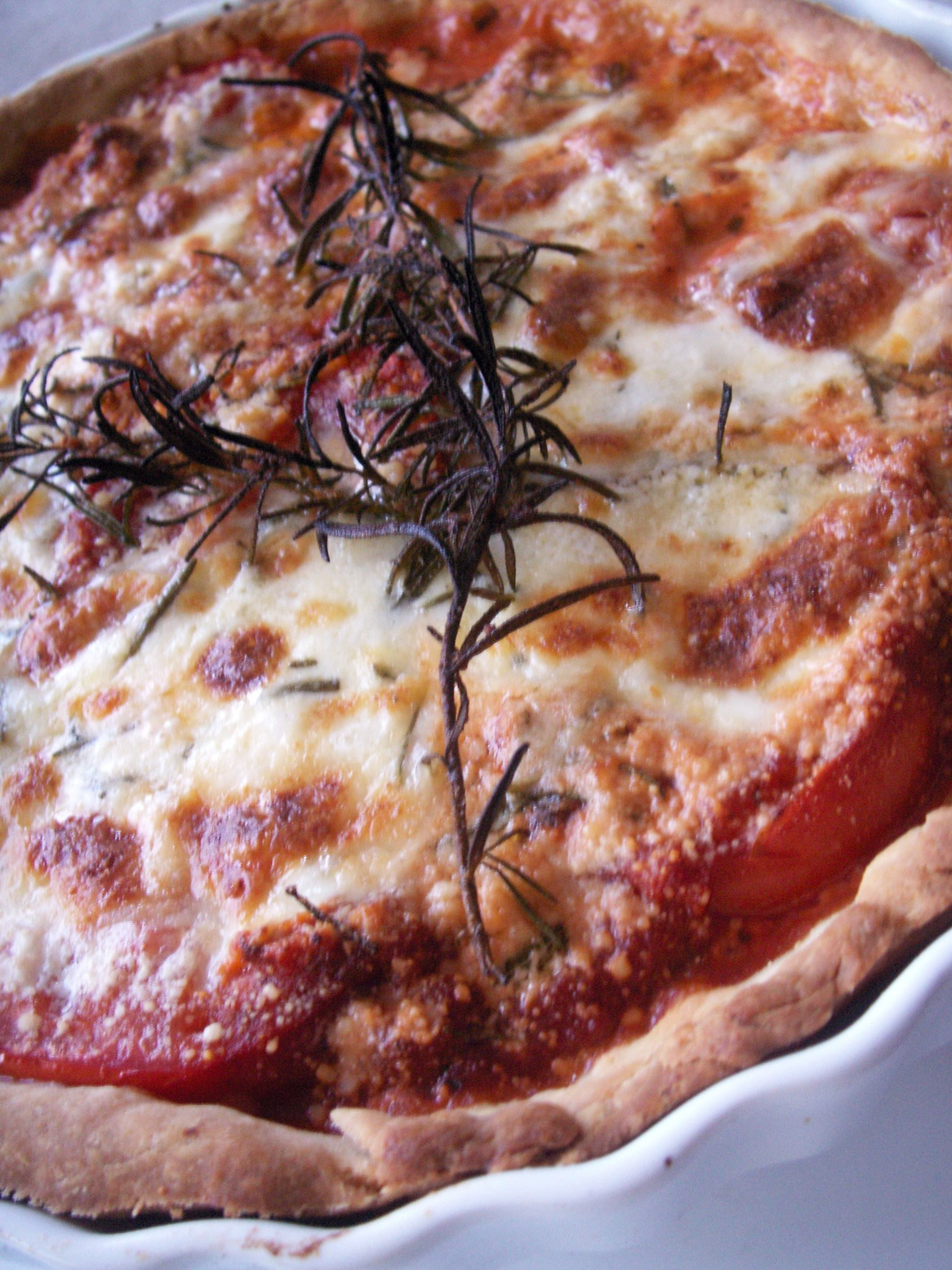 Rosemary Margherita 'Pizza' Tart