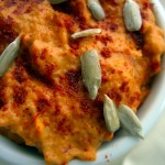 Roasted red pepper hummus (2)