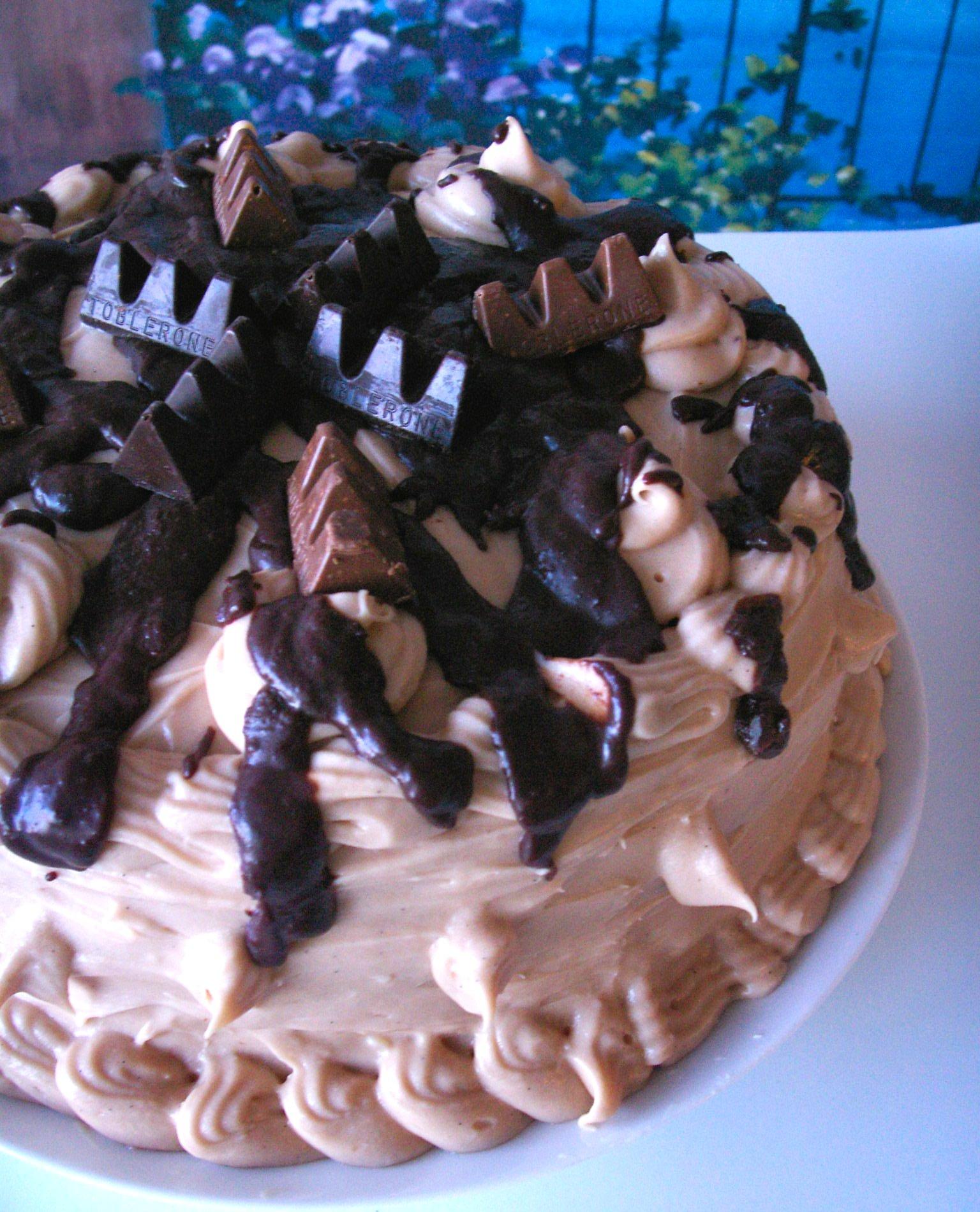 Chocolate Toblerone Layer Cake