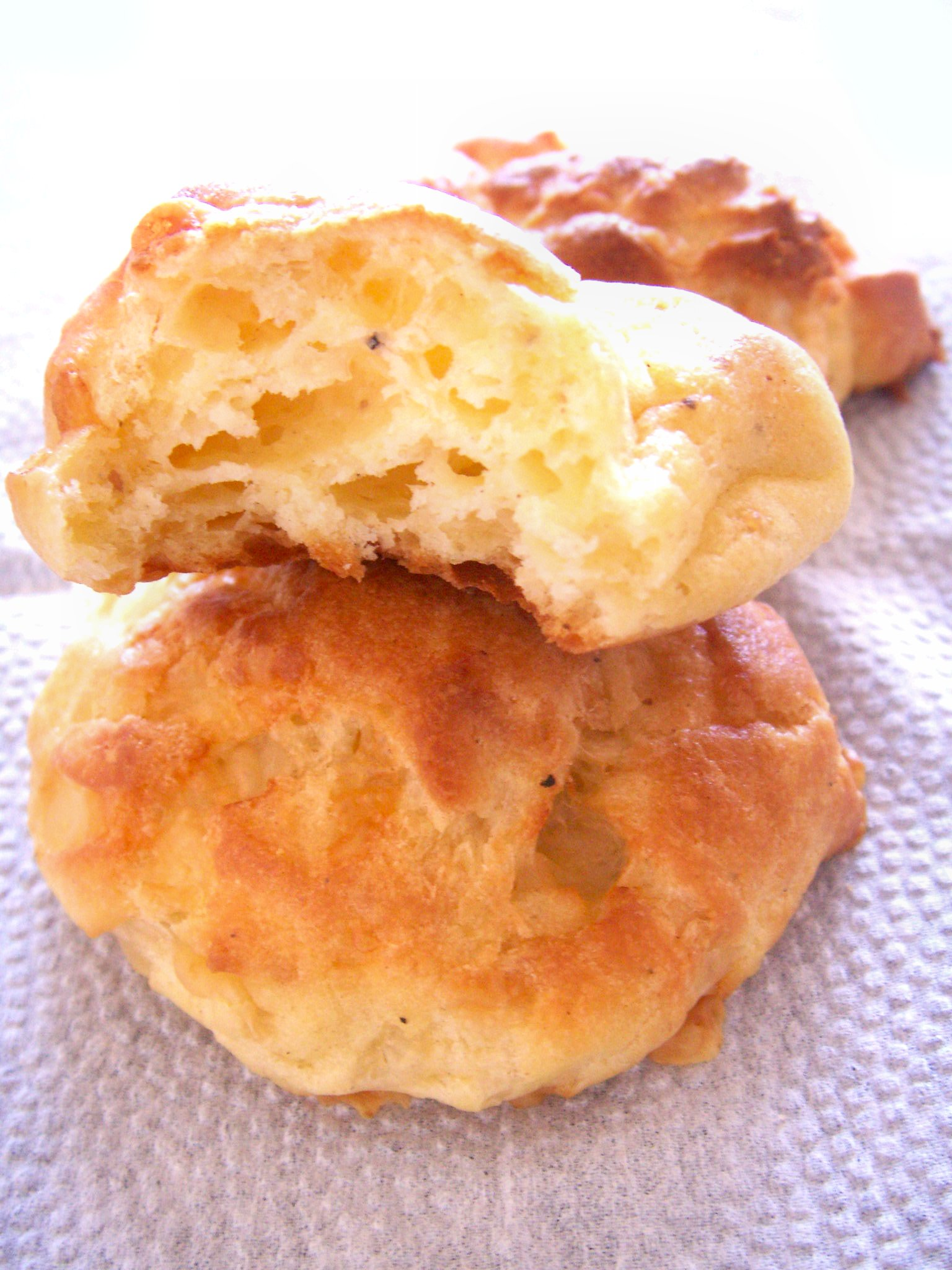 Traditional Gruyere Gougeres