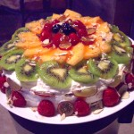Fruit sponge cake (1)