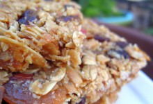Maple Fruit & Nut Granola Bars